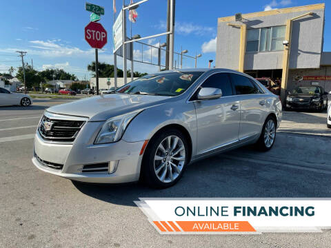 2017 Cadillac XTS for sale at Global Auto Sales USA in Miami FL