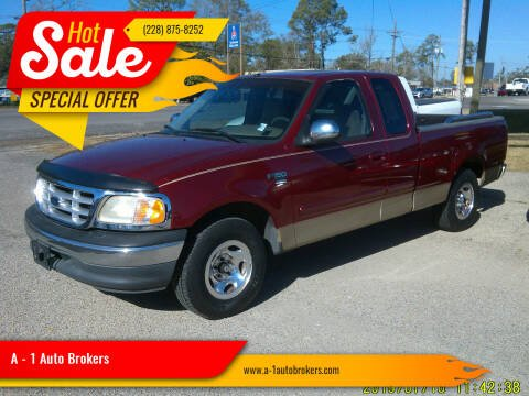 1999 Ford F-150 for sale at A - 1 Auto Brokers in Ocean Springs MS