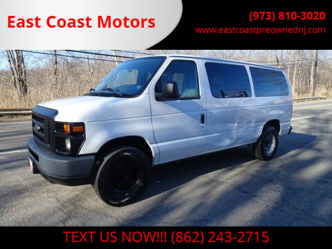 2009 Ford E-Series Wagon for sale at East Coast Motors in Lake Hopatcong NJ