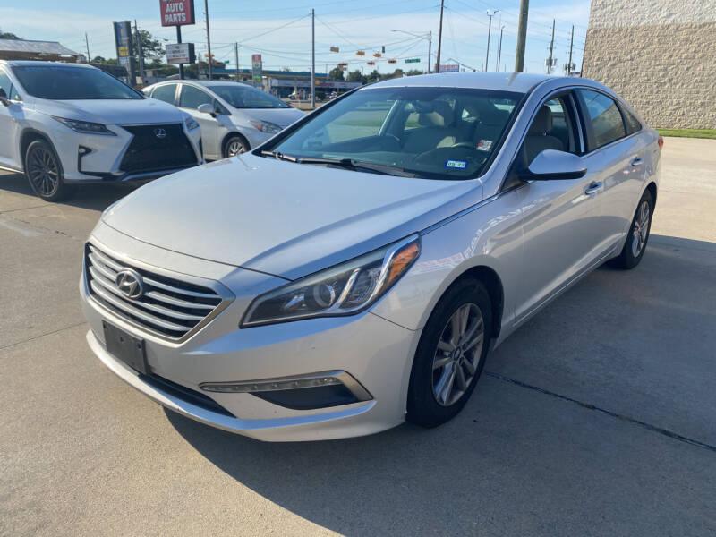 2015 Hyundai Sonata for sale at Houston Auto Gallery in Katy TX