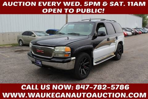 2002 GMC Yukon for sale at Waukegan Auto Auction in Waukegan IL