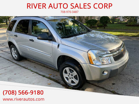 2006 Chevrolet Equinox for sale at RIVER AUTO SALES CORP in Maywood IL