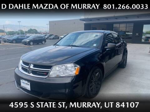 2014 Dodge Avenger for sale at D DAHLE MAZDA OF MURRAY in Salt Lake City UT