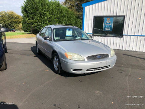 2004 Ford Taurus for sale at First Class Autos in Maiden NC