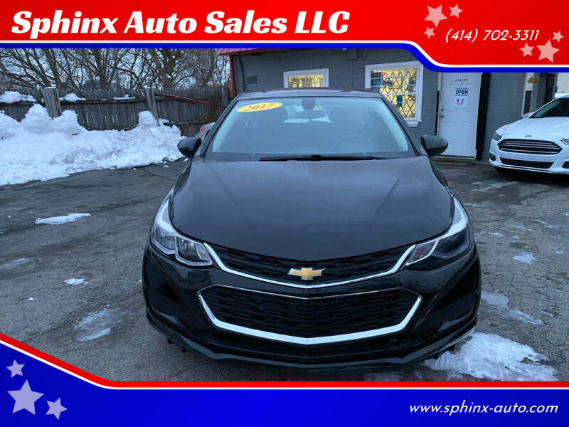 2017 Chevrolet Cruze for sale at Sphinx Auto Sales LLC in Milwaukee WI