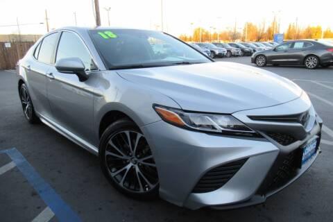 2018 Toyota Camry for sale at Choice Auto & Truck in Sacramento CA