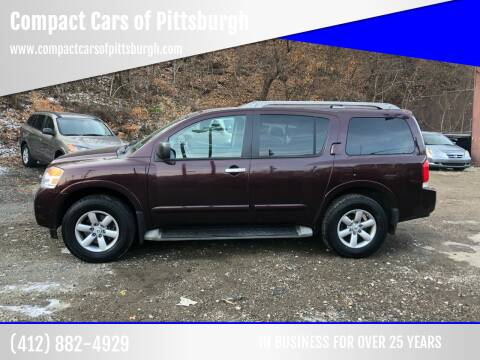 2013 Nissan Armada for sale at Compact Cars of Pittsburgh in Pittsburgh PA