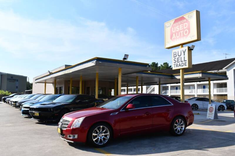 2008 Cadillac CTS for sale at Houston Used Auto Sales in Houston TX