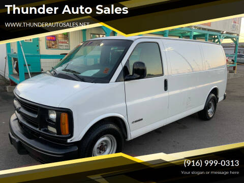 2000 Chevrolet Express Cargo for sale at Thunder Auto Sales in Sacramento CA
