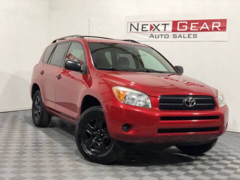 2008 Toyota RAV4 for sale at Next Gear Auto Sales in Westfield IN