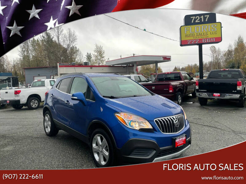 2015 Buick Encore for sale at FLORIS AUTO SALES in Anchorage AK