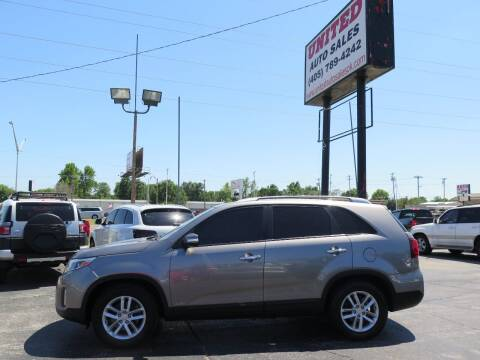 2014 Kia Sorento for sale at United Auto Sales in Oklahoma City OK