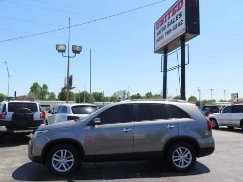2014 Kia Sorento for sale at United Auto Sales in Oklahoma City OK