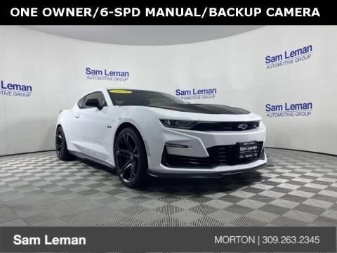2020 Chevrolet Camaro for sale at Sam Leman CDJRF Morton in Morton IL