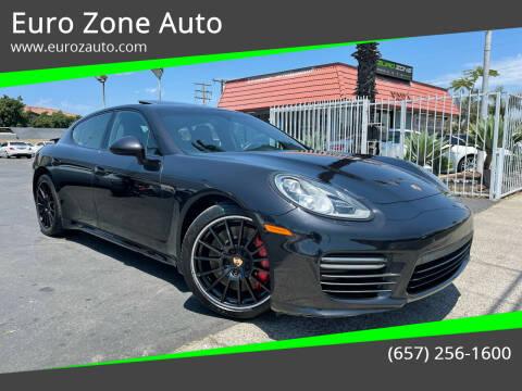 2014 Porsche Panamera for sale at Euro Zone Auto in Stanton CA