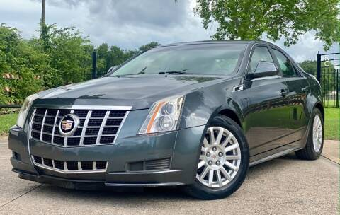 2012 Cadillac CTS for sale at Texas Auto Corporation in Houston TX