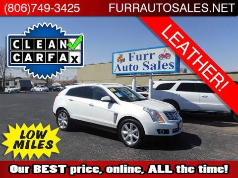 2013 Cadillac SRX for sale at FURR AUTO SALES in Lubbock TX
