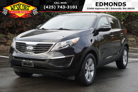 2013 Kia Sportage for sale at West Coast Auto Works in Edmonds WA