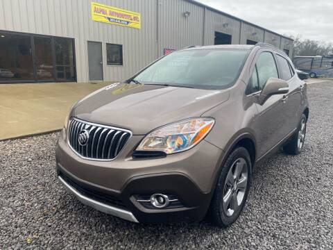 2014 Buick Encore for sale at Alpha Automotive in Odenville AL