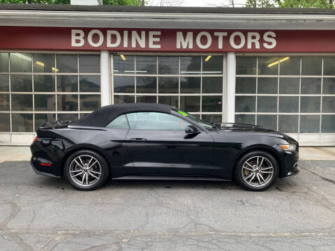 2016 Ford Mustang for sale at BODINE MOTORS in Waverly NY