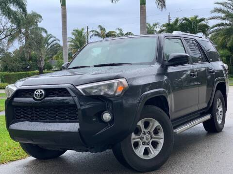 2016 Toyota 4Runner for sale at HIGH PERFORMANCE MOTORS in Hollywood FL