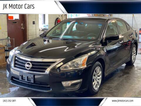 2015 Nissan Altima for sale at JK Motor Cars in Pittsburgh PA