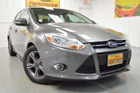 2014 Ford Focus for sale at Performance car sales in Joliet IL