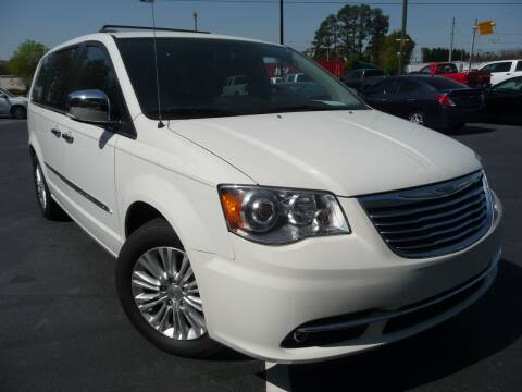 2012 Chrysler Town and Country for sale at Wade Hampton Auto Mart in Greer SC