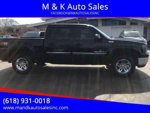 2009 GMC Sierra 1500 for sale at M & K Auto Sales in Granite City IL