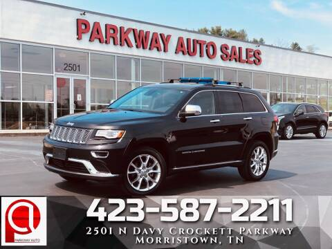 2014 Jeep Grand Cherokee for sale at Parkway Auto Sales, Inc. in Morristown TN