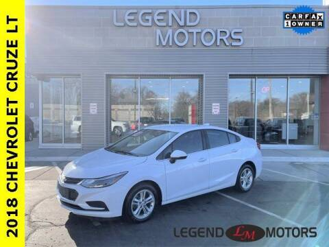 2018 Chevrolet Cruze for sale at Legend Motors of Waterford in Waterford MI