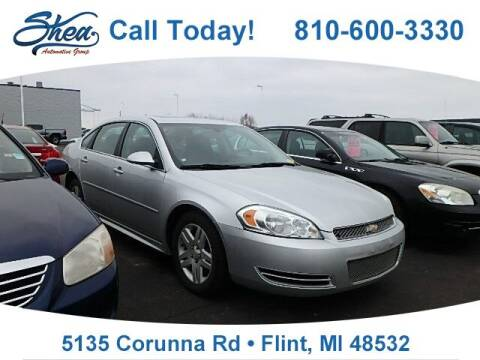 2012 Chevrolet Impala for sale at Jamie Sells Cars 810 - Linden Location in Flint MI