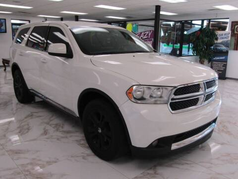 2012 Dodge Durango for sale at Dealer One Auto Credit in Oklahoma City OK
