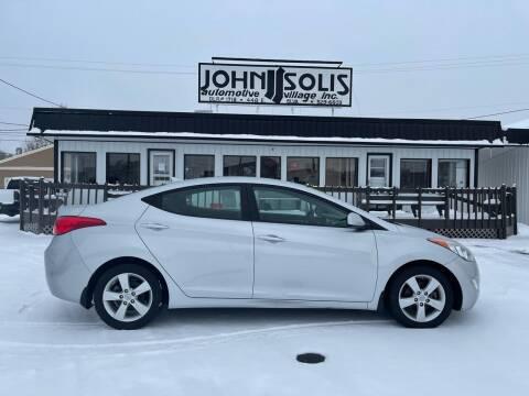 2013 Hyundai Elantra for sale at John Solis Automotive Village in Idaho Falls ID