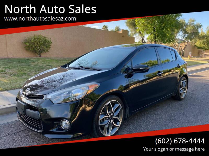 2015 Kia Forte5 for sale at North Auto Sales in Phoenix AZ