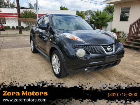 2012 Nissan JUKE for sale at Zora Motors in Houston TX
