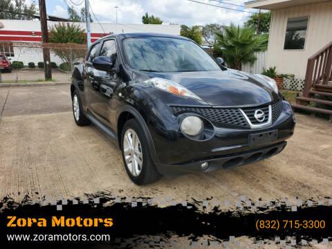 2012 Nissan JUKE for sale at Zora Motors in Houston TX