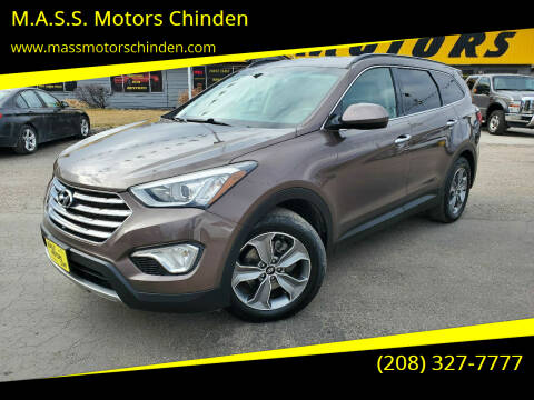 2015 Hyundai Santa Fe for sale at M.A.S.S. Motors - West Fairview in Boise ID