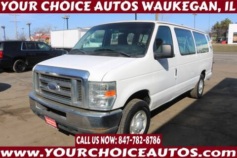 2009 Ford E-Series Wagon for sale at Your Choice Autos - Waukegan in Waukegan IL