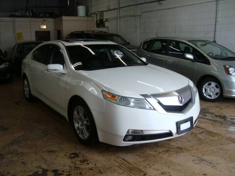 2010 Acura TL for sale at ARIANA MOTORS INC in Addison IL