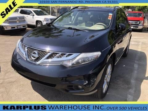 2014 Nissan Murano for sale at Karplus Warehouse in Pacoima CA