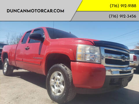 2009 Chevrolet Silverado 1500 for sale at DuncanMotorcar.com in Buffalo NY