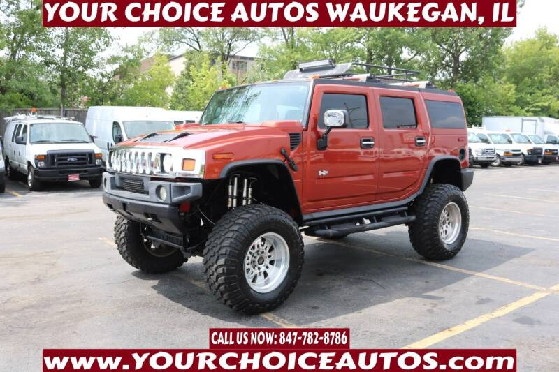 2003 HUMMER H2 for sale at Your Choice Autos - Waukegan in Waukegan IL