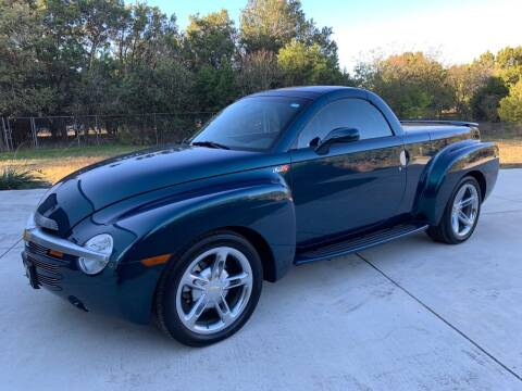 2005 Chevrolet SSR for sale at TROPHY MOTORS in New Braunfels TX