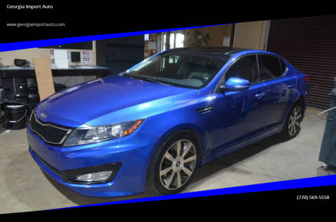 2011 Kia Optima for sale at Georgia Import Auto in Alpharetta GA
