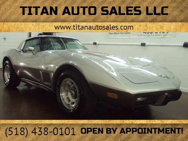 1978 Chevrolet Corvette for sale at Titan Auto Sales LLC in Albany NY