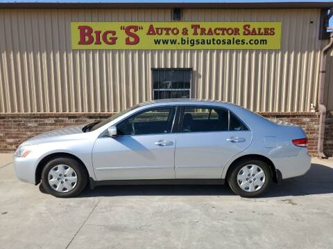 2003 Honda Accord for sale at BIG 'S' AUTO & TRACTOR SALES in Blanchard OK