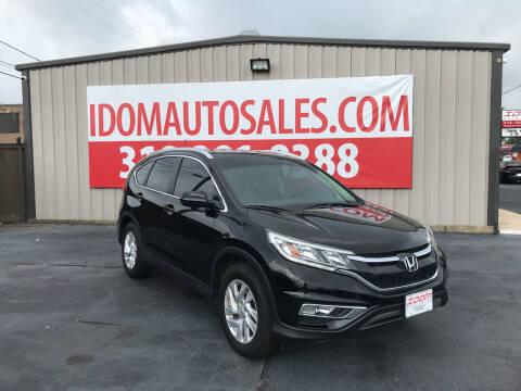 2016 Honda CR-V for sale at Auto Group South - Idom Auto Sales in Monroe LA