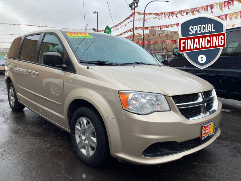 2012 Dodge Grand Caravan for sale at RON'S AUTO SALES INC in Cicero IL
