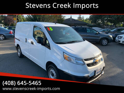 2015 Chevrolet City Express Cargo for sale at Stevens Creek Imports in San Jose CA